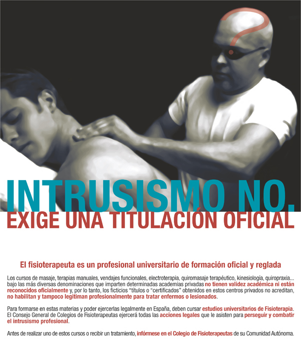 Intrusismo fisioterapia
