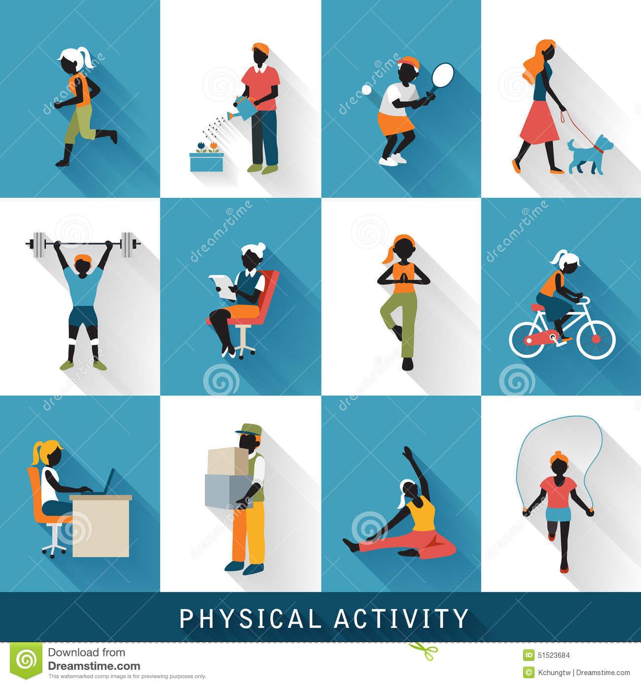 iconos-modernos-de-la-actividad-física-