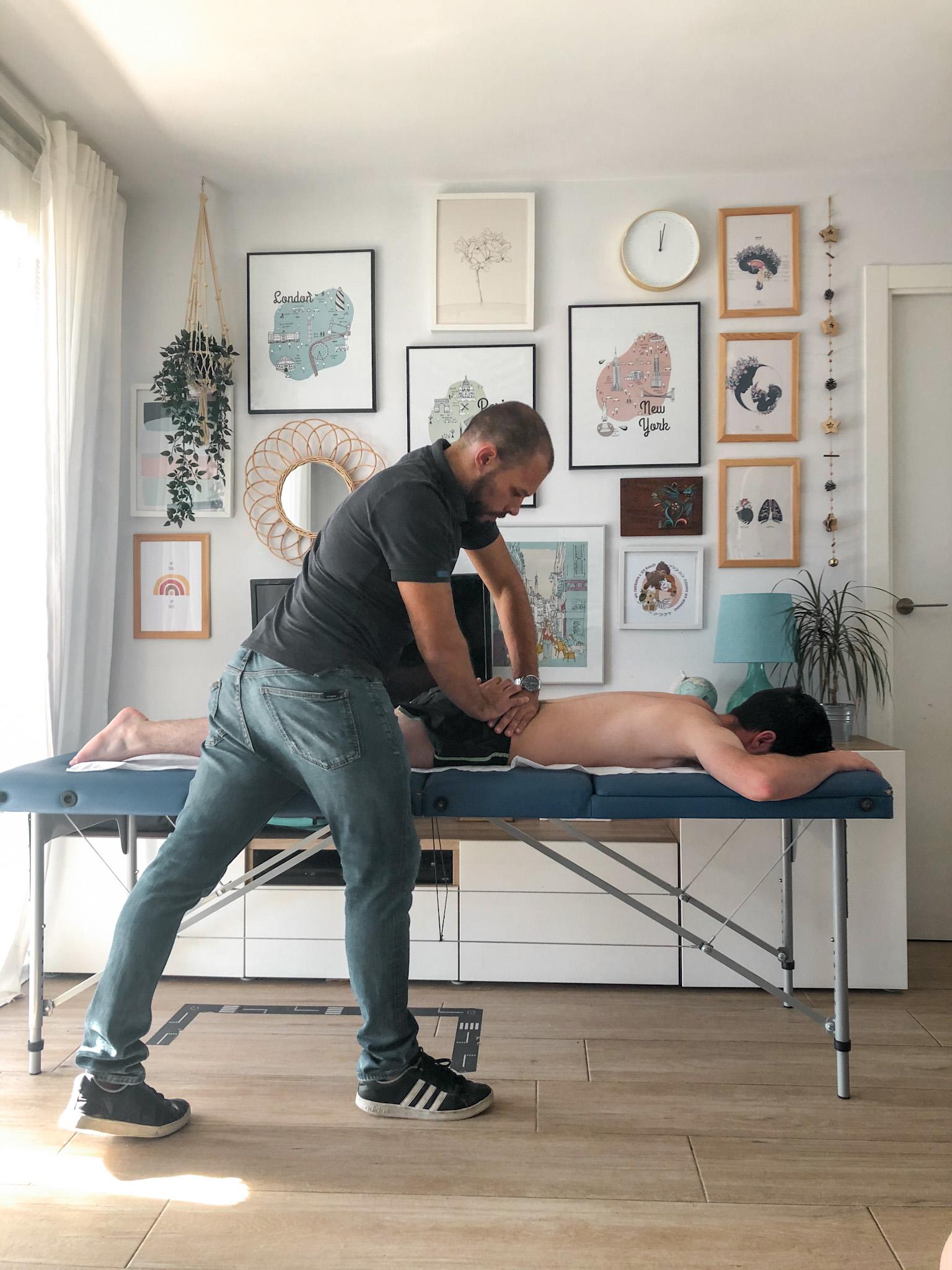 Servicio de fisioterapia a domicilio